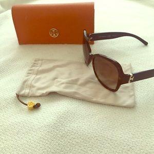Tortoise Shell Tory Burch Sunglasses